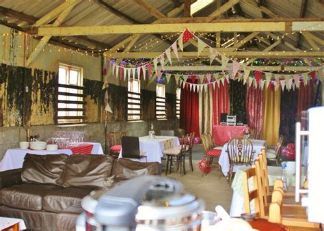 party venue rustic barn  optional glamping accommodation
