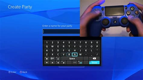 siege logitech use dualshock 4 motion keyboard typing ps4 how to