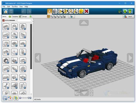 lego digital designer juega con lego y construye lo que quieras en tu ordenador