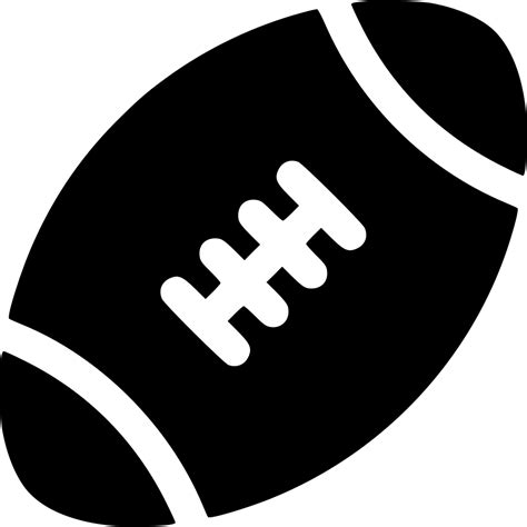 American Football Svg Png Icon Free Download (#565355 ...