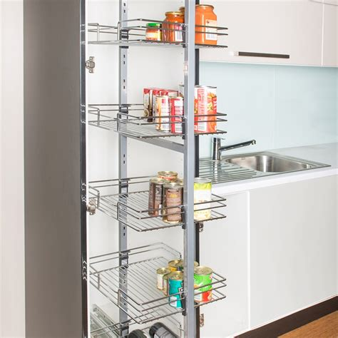 Modern And Classic Pull Out Pantry Design  Homesfeed