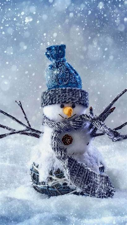 Iphone Wallpapers Happy Christmas Snowman Pc