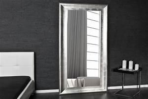 Wandspiegel Design Modern : design wandspiegel glace silber 180cm dunord design ~ Indierocktalk.com Haus und Dekorationen