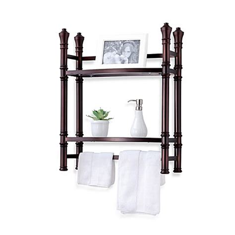 Small Bathroom Etagere by Monaco No Tools Small Wall Unit 201 Tag 232 Re In Rubbed