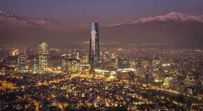 Santiago Chile Country Cities Latin American Desktop