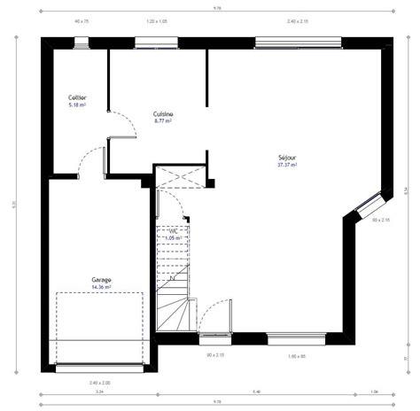 renover carrelage cuisine plan maison individuelle 3 chambres 38b habitat concept