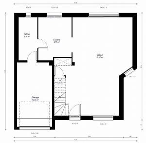 Plan Maison A Etage : plan maison individuelle 3 chambres 38b habitat concept ~ Melissatoandfro.com Idées de Décoration