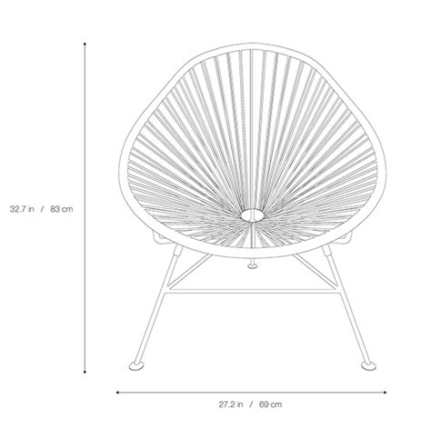 acapulco lounge chair by the common project tododesign