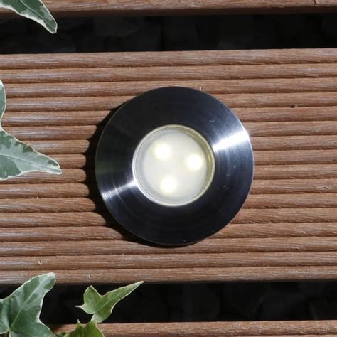 led decking lights techmar birch 12v led outside deck lights