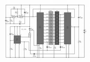 Two Colour Led Light Bar Circuit Schematic Diagram Under