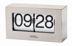 Tischuhren Modern Digital : ams silber 21cm 1175 bei uhren park ~ Pilothousefishingboats.com Haus und Dekorationen