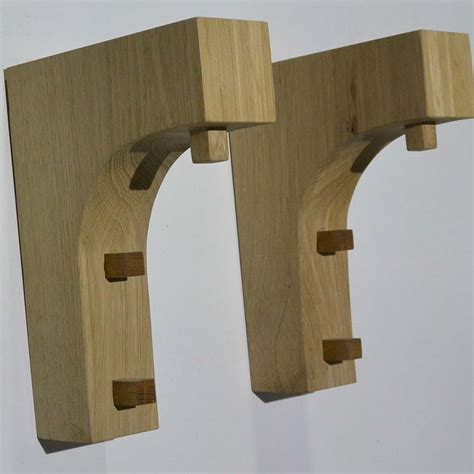 Corbels Uk by Solid Oak Corbels Traditional Concave Pair Premium