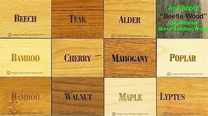 Copy of Wood Finishes Chart