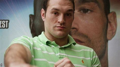 Tyson Fury: I'm not interested in being a role model - BBC ...