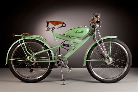 Electric Bikes Made Out Of Vintage 1950s Bike Parts