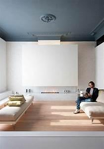 revgercom couleur parquet avec mur gris idee With couleur mur salon tendance 18 la decoration avec un meuble aquarium archzine fr