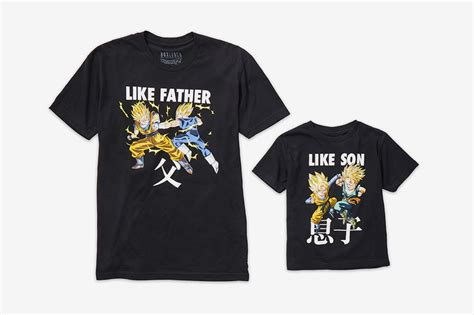 anime father s day father s day honoring anime tees boxlunch and dragon ball