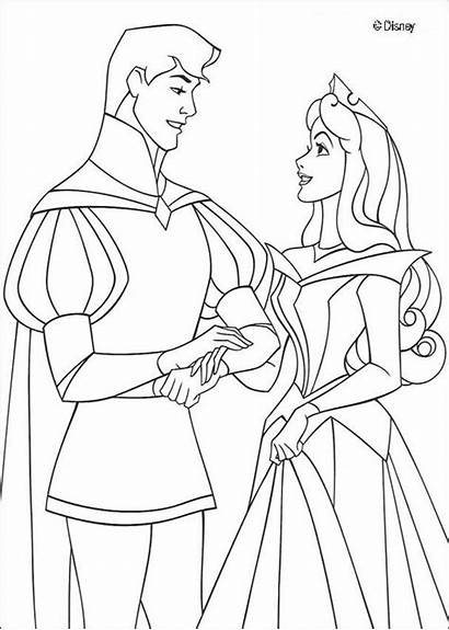 Coloring Sleeping Beauty Pages Odd Dr Disney