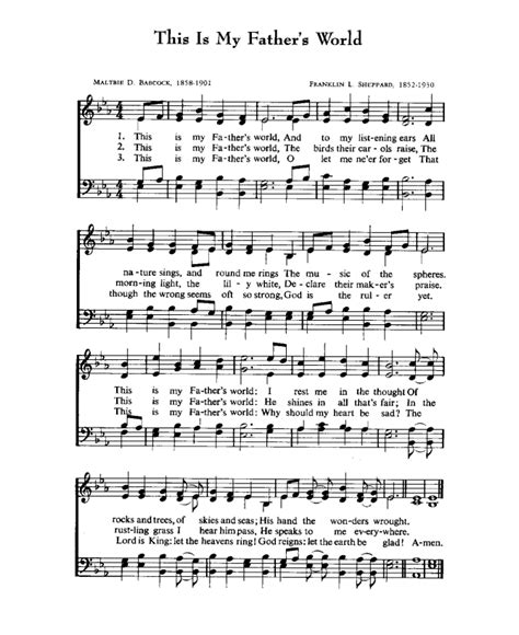 Why Me Lord Sheet Music