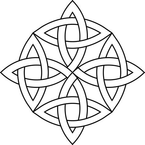Celtic Clip Celtic Knot Circle Clipart Best
