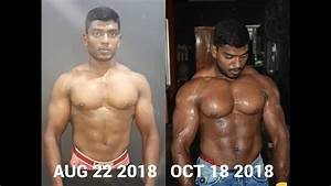 Before And After Bodybuilding Transformation Video  Team Gm Gain Muscles Athlet Ajith