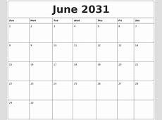 April 2031 Free Printable Calendar Templates