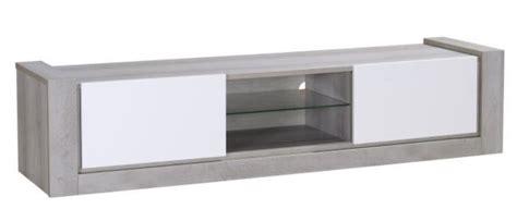 meuble tv gris meuble tv gris et blanc laqu 233 mat kayen lestendances fr