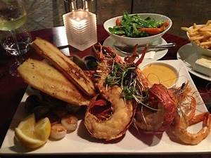 seafood plate for two - Picture of Chameleon Restaurant ...