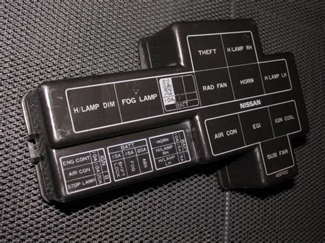 nissan zx oem fuse box cover