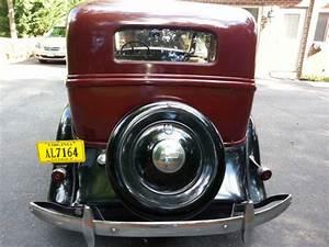 1934 Plymouth 4 Door Sedan