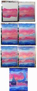 50, Favorite, Step, By, Step, Acrylic, Painting, Examples, For