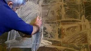 How to clean and seal a slate stone floor - YouTube