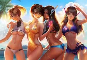 Overwatch Beach Time By Jiuge On DeviantArt