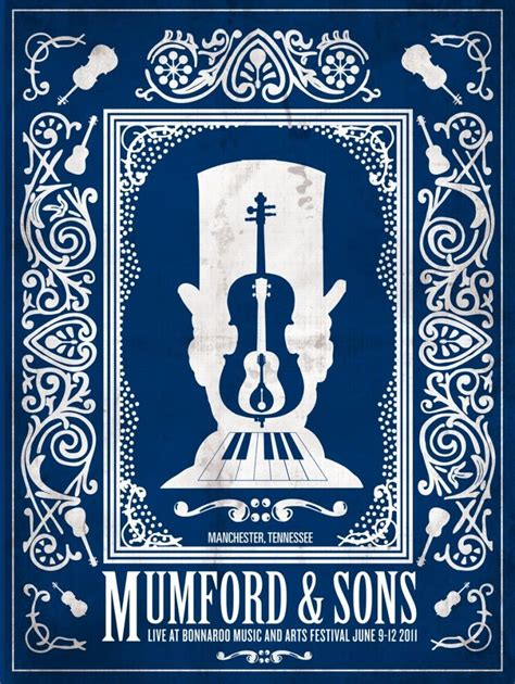 mumford sons from mumford sons concert poster the art of getting by