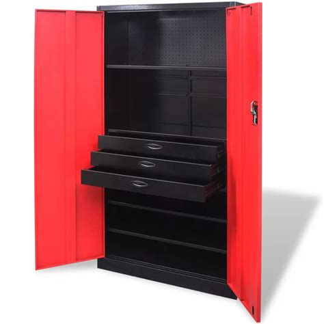 Tool Storage Cupboard by Metal Tool Storage Cabinet With Removable Tool Chest Black