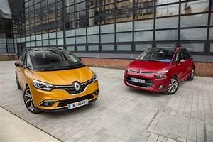 Citroen C4 Picasso Ii Vs Renault Scenic Iv