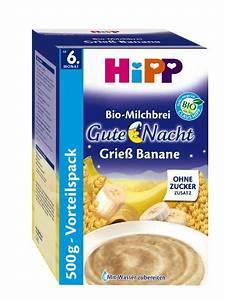 Gute Nacht Brei : hipp gute nacht brei grie banane 4er pack 4 x 500 g bio ~ A.2002-acura-tl-radio.info Haus und Dekorationen