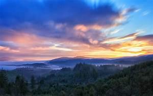 Sunrise, Clouds, Mac, Wallpaper, Download