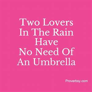 Umbrella | Proverbsy