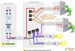 Cabler Un Va Et Vient : montage c blage branchement d un va et vient comment brancher un va et vient ~ Voncanada.com Idées de Décoration