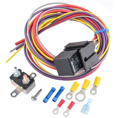 jegs 10559 manual controlled single fan wiring harness