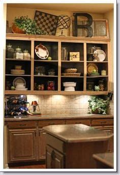 above kitchen cabinet decorating ideas 1000 images about decor above kitchen cabinets on 7391