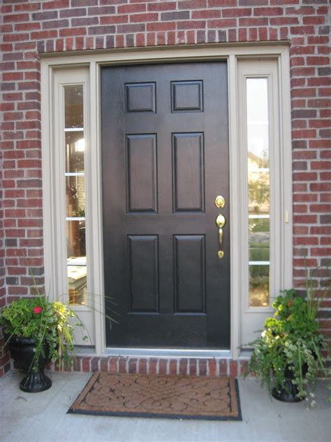 How To Choose A Front Door With Sidelights — Interior