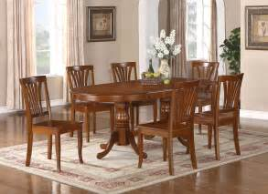 Dining Room Table Sets 9pc Oval Newton Dining Room Set With Extension Leaf Table 8 Chairs 42 Quot X78 Quot Ebay