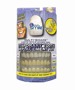 Mutli-shade Temporary Tooth Replacement Kit
