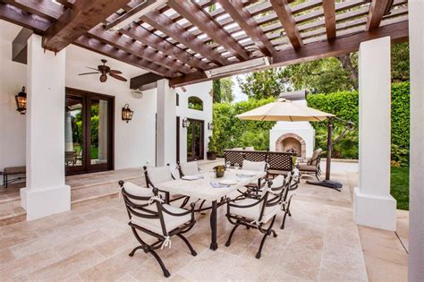 Spanishstyle Back Patio With Statement Making Pergola. Laying Brick Patio Edging. Patio Block Project Kits. Patio Bar San Francisco. Patio Set For Two. Brick Patio Wall Ideas. Tiered Patio Pictures. Patio Pavers Dallas Texas. Patio Builders Aylesbury