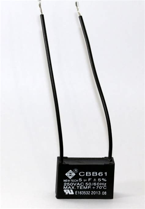 ceiling fan capacitor ceiling fan capacitor cbb61 5uf 250vac ebay
