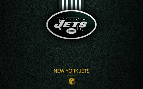 Download wallpapers New York Jets, 4k, american football ...