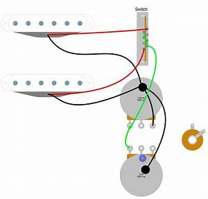 Two Humbucker 2 Conductor Blade Switch Wiring Diagram