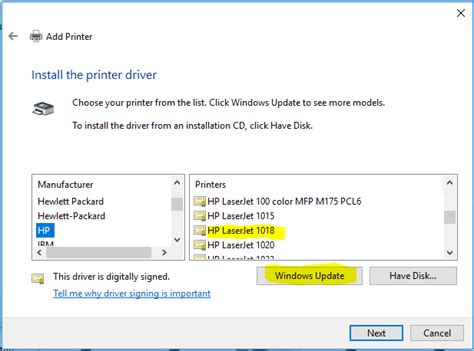 Switch on the devices before starting the process and ensure that they are connected to a power source sans a surge protector. hp laserjet 1018 driver for windows 10 - HP Support ...